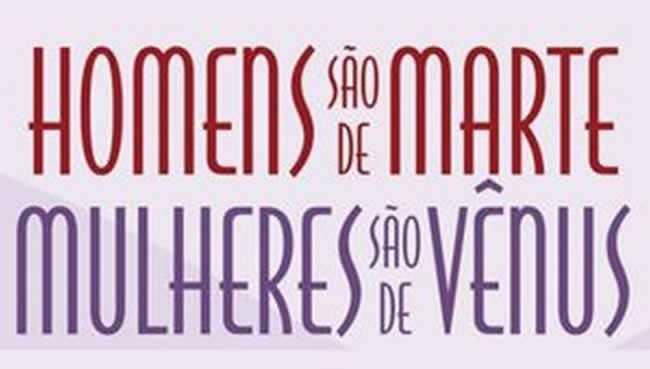 Resenha] Homens são de Marte, Mulheres são de Vênus   Jovem ...